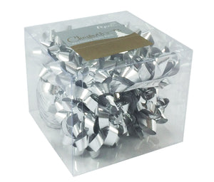 Silver Ribbons and Bows