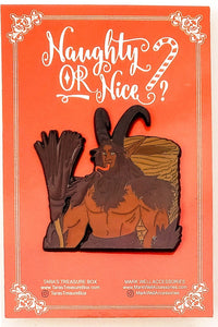 Krampus - Yule - Christmas Enamel Pin Original Pin
