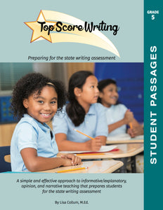 5th Grade Student Workbook of Passages Franklin Academy – Cooper City Campus