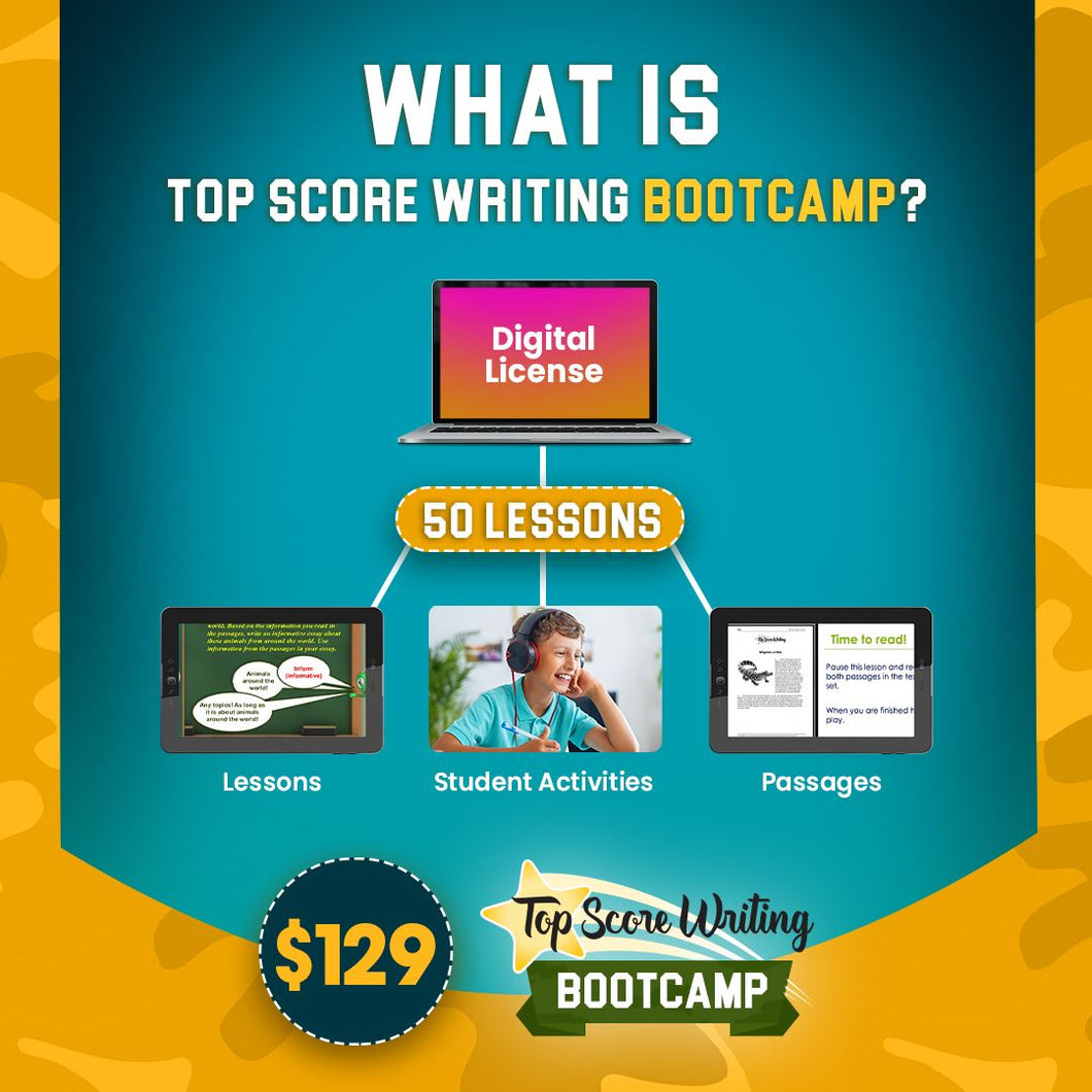 4th Grade Writing Boot Camp 20-21