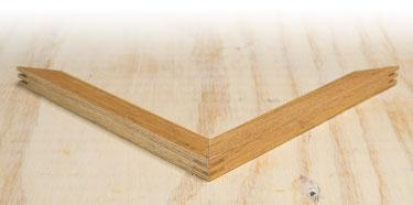 Decorative Bevel - Oak