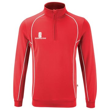 Surridge Performance Sweatshirt - Red