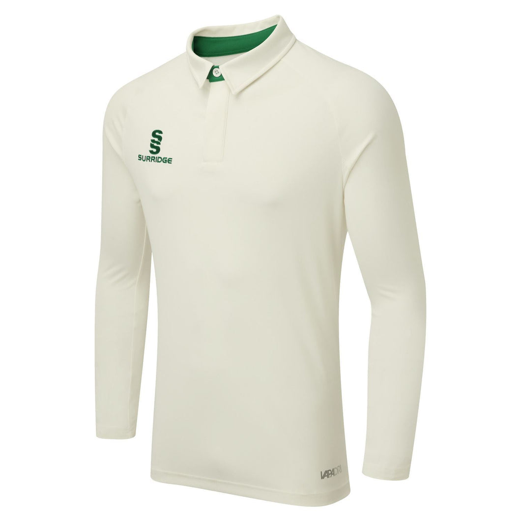 Surridge Tek Long Sleeved Playing Shirt - Green