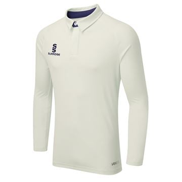 Surridge Tek Long Sleeved Playing Shirt - Navy