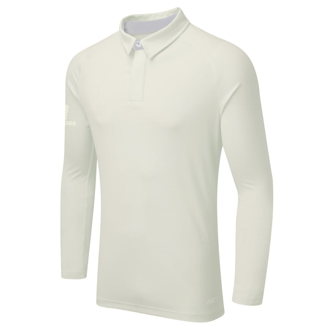 Surridge Tek Long Sleeved Playing Shirt - White