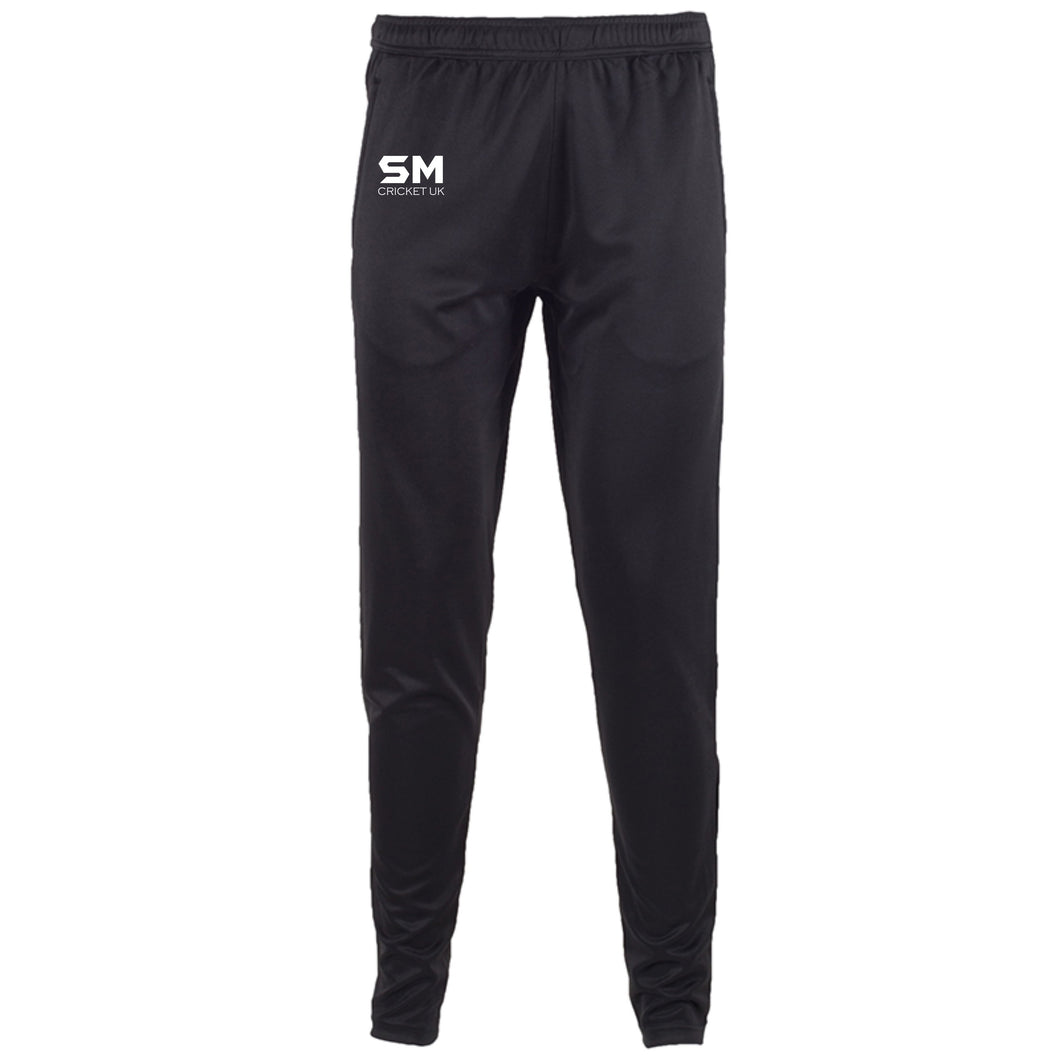 SM Slim Leg training Pants - Black