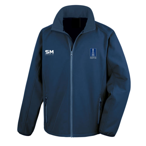 Geddington CC Soft Shell Top - Senior