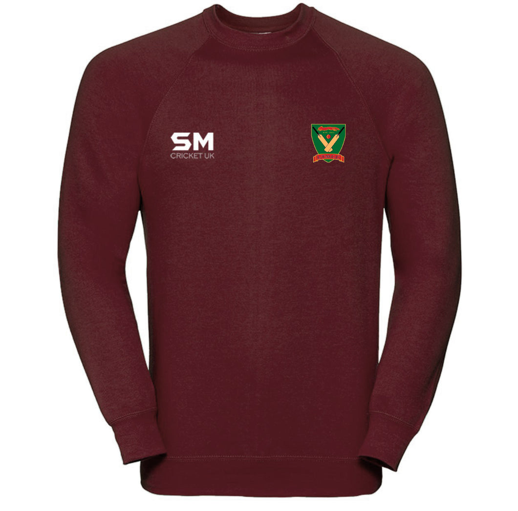 Leicestershire Teachers & Mossdale Cricket Club Training Sweatshirt