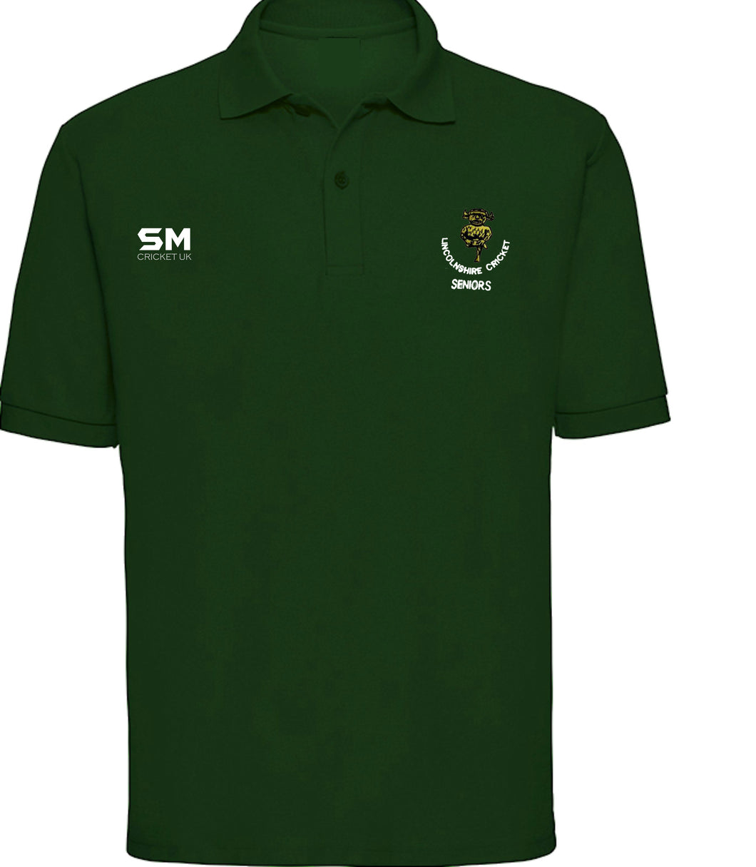 Lincolnshire Cricket - Seniors Performance Polo - Senior