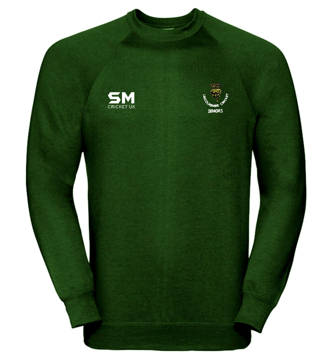 Lincolnshire Cricket - Seniors Training Sweatshirt - Senior
