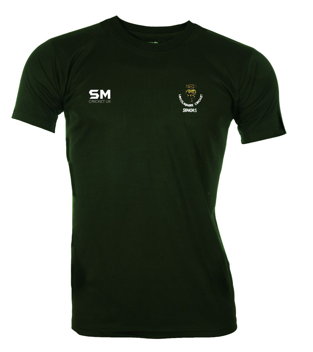 Lincolnshire Cricket - Seniors Training Shirt - Senior
