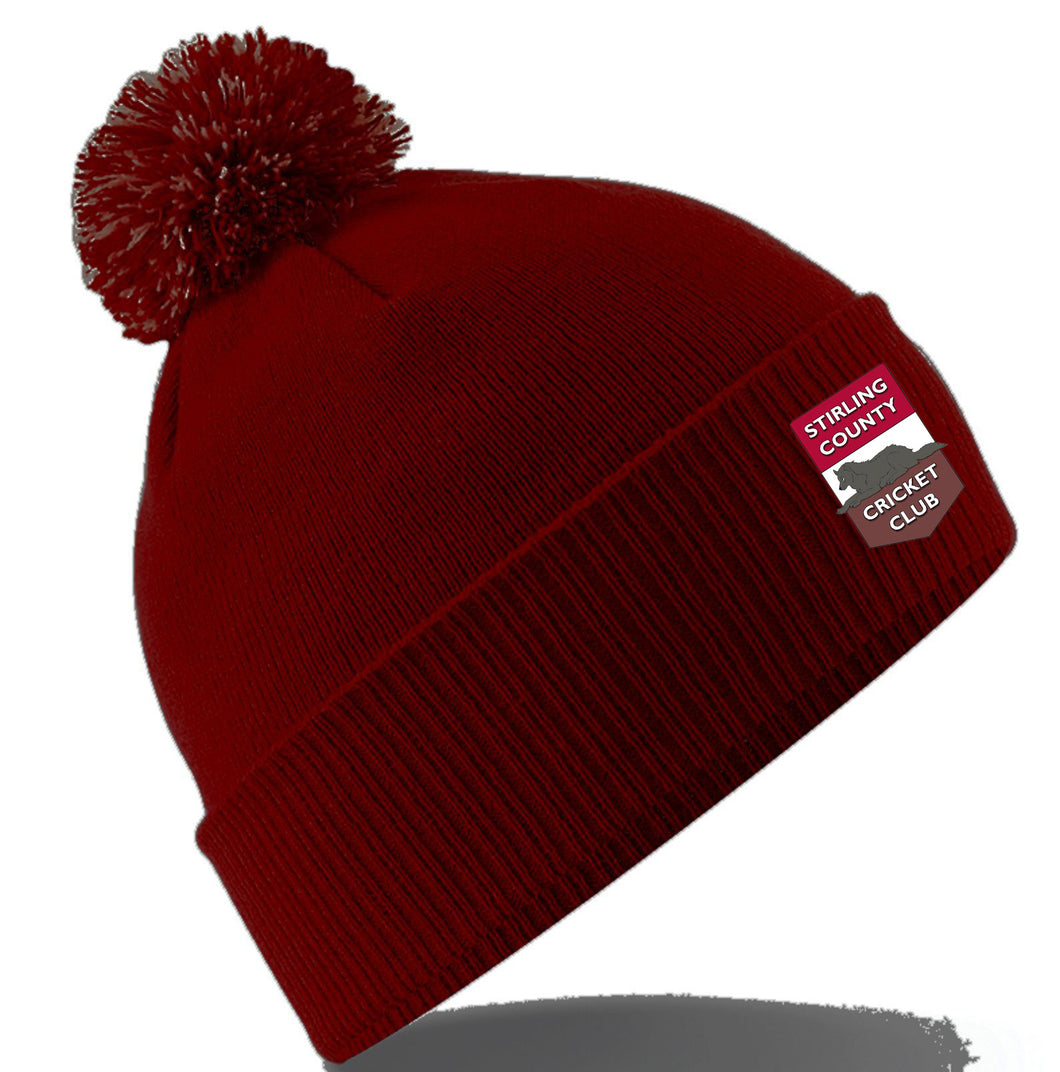 Stirling County CC Bobble Hat