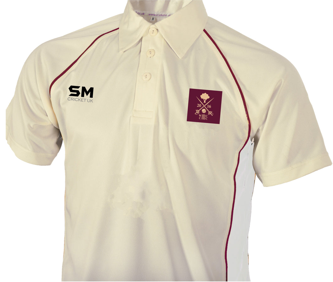 Welby Cavaliers CC Cricket Club Playing Shirt (Long/Short Sleeve)