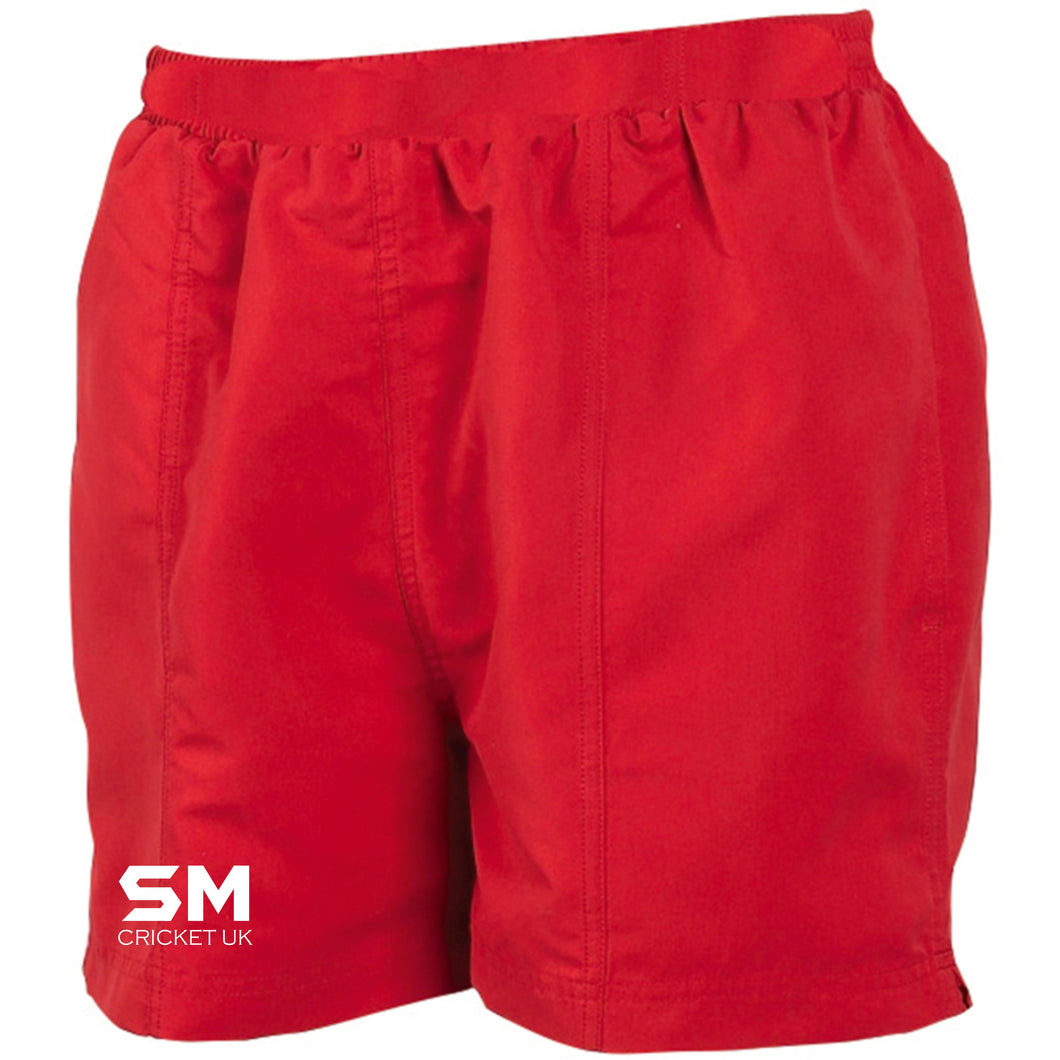 SM Women's Club Shorts - Red