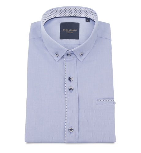 Guide London - Sky Short Sleeve Shirt - HS.2280