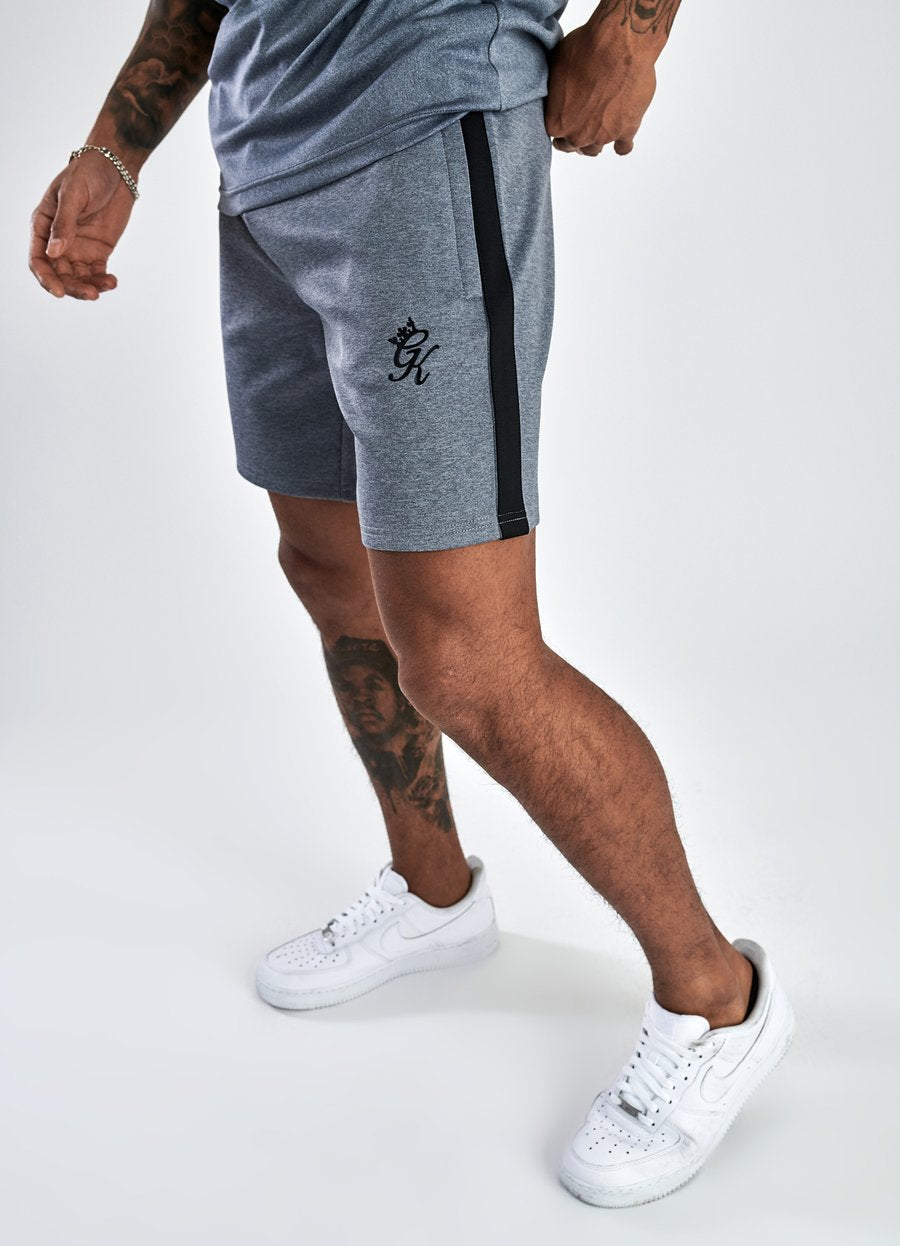 Gym King Nebby Shorts - Charcoal Marl - SHR-D21MA