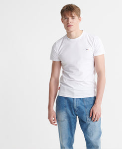 Superdry White Organic Cotton Collective T-Shirt - M1010092B - 01C