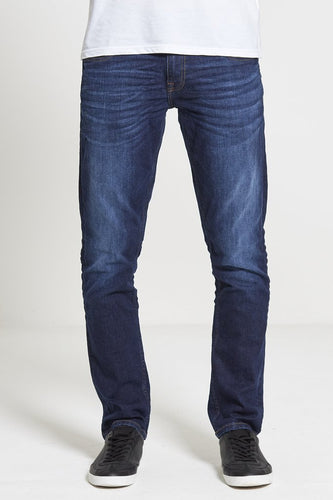 DML Maverick Slim Straight Stretch Jean - Dark Wash