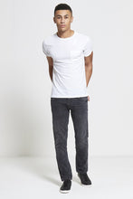 Load image into Gallery viewer, DML Maverick Slim Straight Stretch Jean - Charcoal