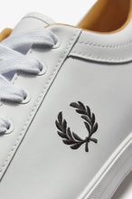 Load image into Gallery viewer, Fred Perry Trainers - Baseline Leather - White - B6158 - 100