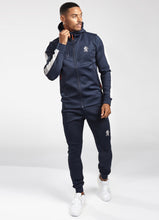 Load image into Gallery viewer, Gym King Navy Koen Poly Tracksuit Top - TST-C22FR