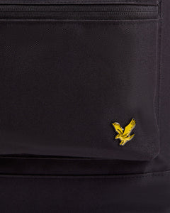 Lyle & Scott Black BackPack Rucksack - BA1200A - 572