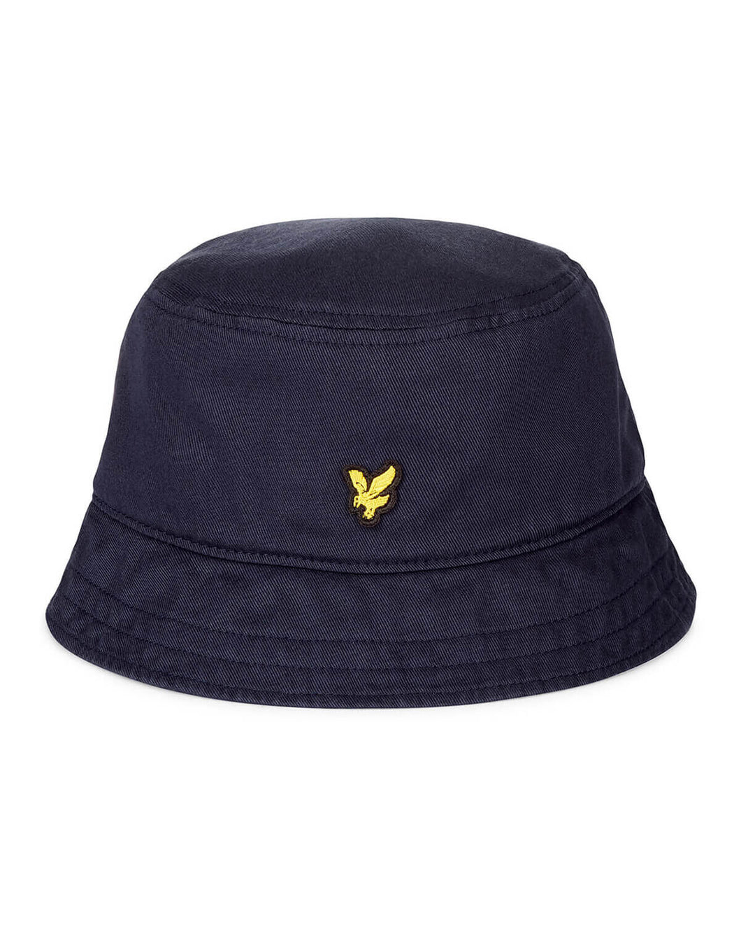 Lyle & Scott Dark Navy Cotton Twill Bucket Hat -HE800A - Z271