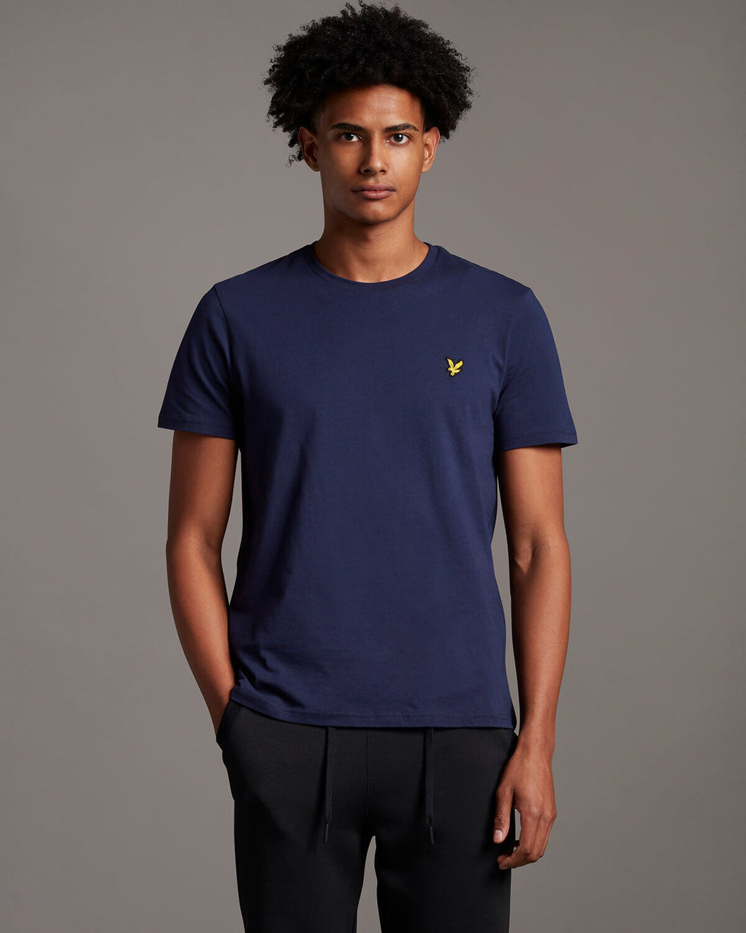 Lyle & Scott Navy Plain T-Shirt - TS400V - Z99