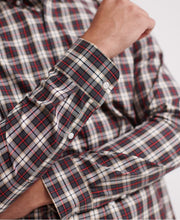 Load image into Gallery viewer, Superdry Black Check Classic London Long Sleeved Shirt - M4000002A - Q22