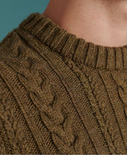 Load image into Gallery viewer, Superdry Cedar Moss Jacob Cable Crew Jumper - M6110038A - 3UI