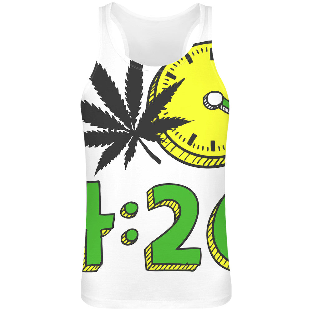 420 Sublimation Tank Top T-Shirt For Men
