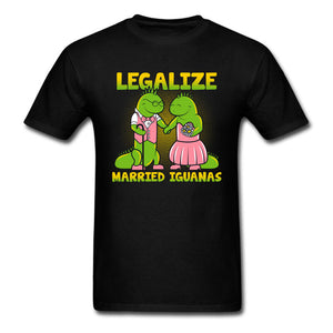 LEGALIZE MARRIED IGUANAS 420 T-Shirt