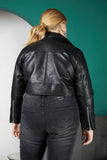 Ride Or Die Faux Leather Moto Jacket
