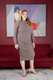 The Shirred Delight Long Sleeve Dress