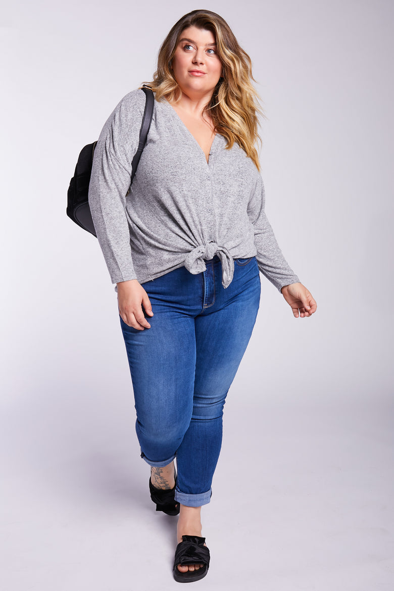 No Question About It Dolman-Sleeve Top