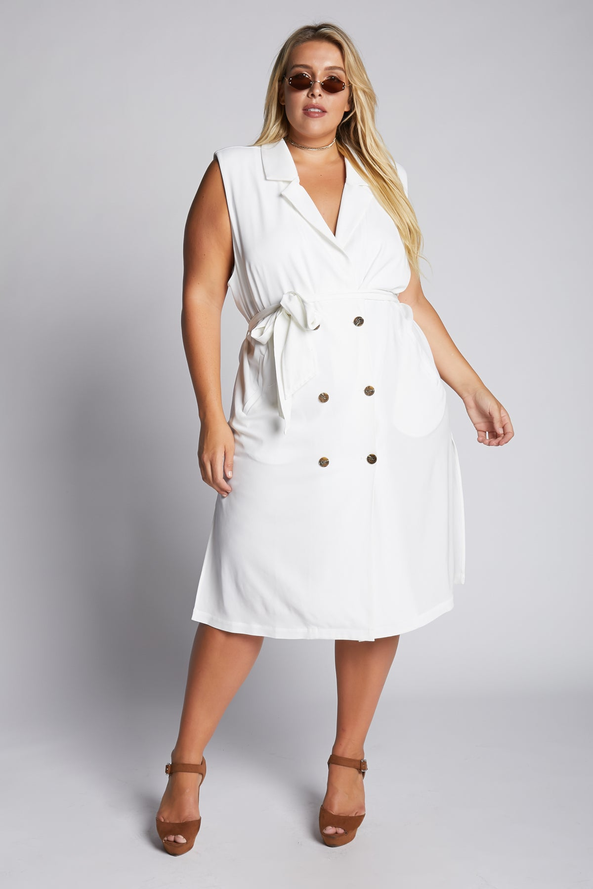 In The Trenches Sleeveless Jacket