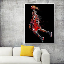 "Michael Jordan - Canvas Painting - ""Air Legend"""