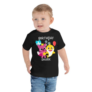 Birthday Shark Toddler Tee
