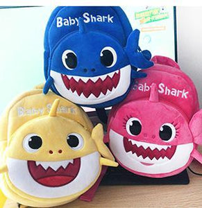 BabyShark Plush Dolls and Backpacks