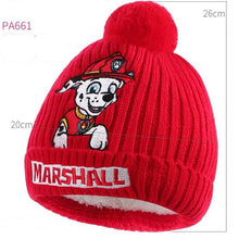 2019 New Genuine Paw Patrol chase marshall skye THICK hat kids winter Velvet cap high quality children toy Christmas gift 1pc