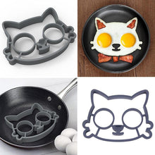 Hello Kitty Silicone Fried Egg Mold Food Grade Silicone Egg Mold Tools Cute Cat Egg Breakfast kitchen Egg Cooking Tools Mould