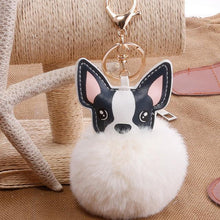 Furball French Bulldog Keychain