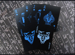 Midnight Wolf Playing Card Set (Limited Edition)