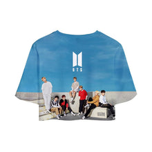 BTS Official Summer Crop Top