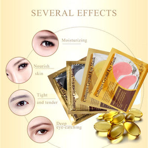 24K Gold Serum Collagen Eye Mask