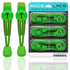 Neon Green Race Laces - Single Pack