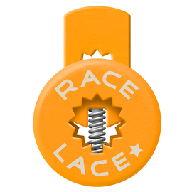 Orange Race Laces - Triple Pack