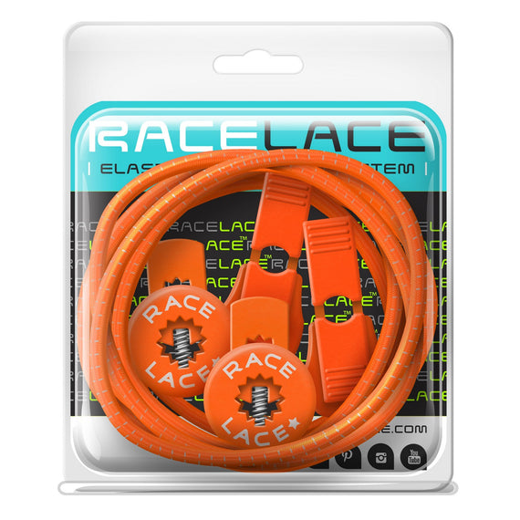 Orange Race Laces - Single Pack