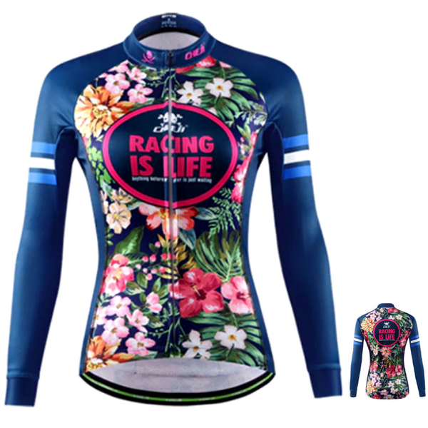 MAILLOT CYCLISTE HIVER BLUE CRUSH (4319880118361)