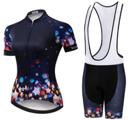 Ensemble court maillot + cuissard de cyclisme Night